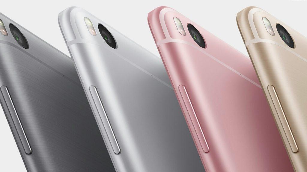 Gama colores Xiaomi Mi5S
