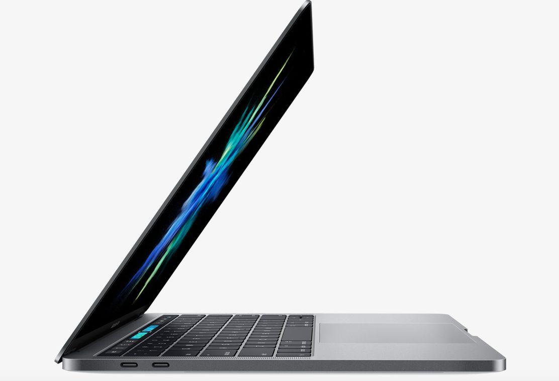 Diseño delgado de la nueva MacBook Pro