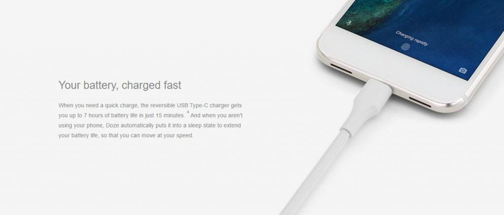 Google Pixel Fast Charge