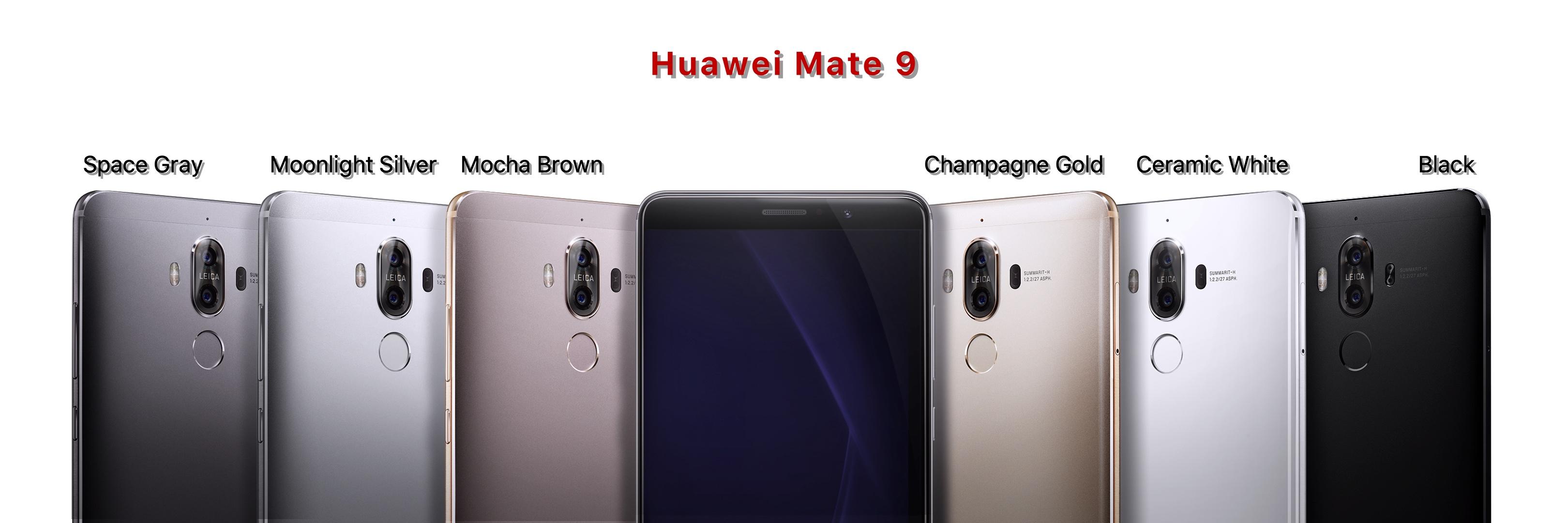 gama huawei mate 9