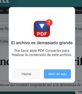 Cómo guardar páginas web en PDF