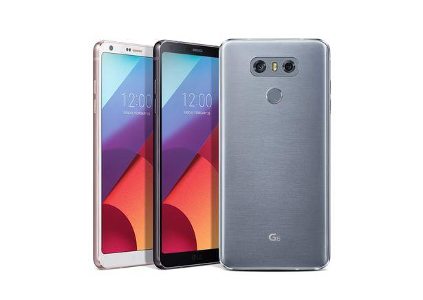 LG G6 Prensa