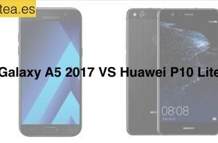 Huawei P10 Lite o Samsung Galaxy A5 2017