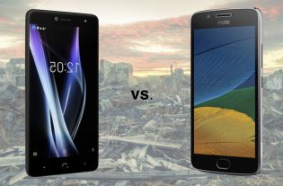 BQ Aquaris X contra Moto G5 Plus