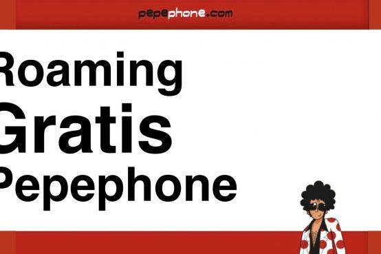 roaming gratuito pepephone