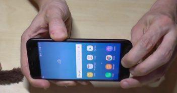 hacer capturas con un Samsung J5 2017