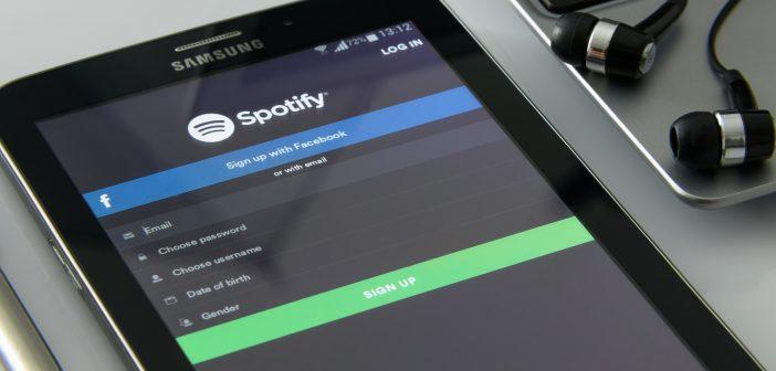 ver las letras de tus canciones en Spotify