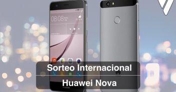 Sorteo internacional del huawei Nova