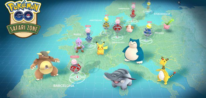 Nuevos eventos para Pokémon GO