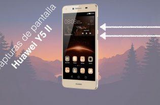 Cómo hacer capturas con el Huawei Y5 II