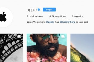 instagram cuenta apple