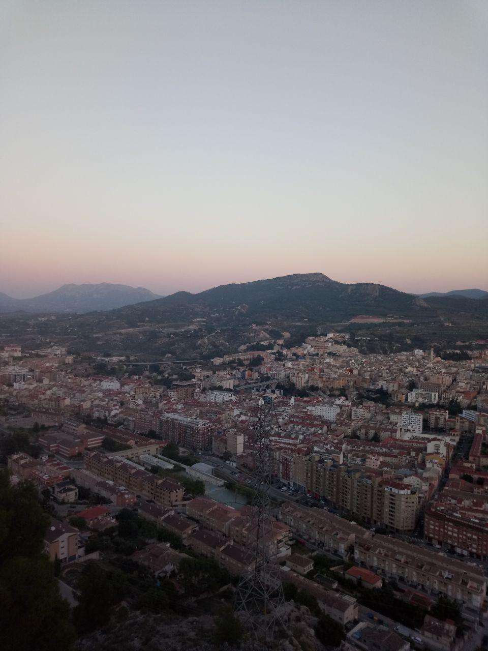 Foto atardecer Alcatel A7