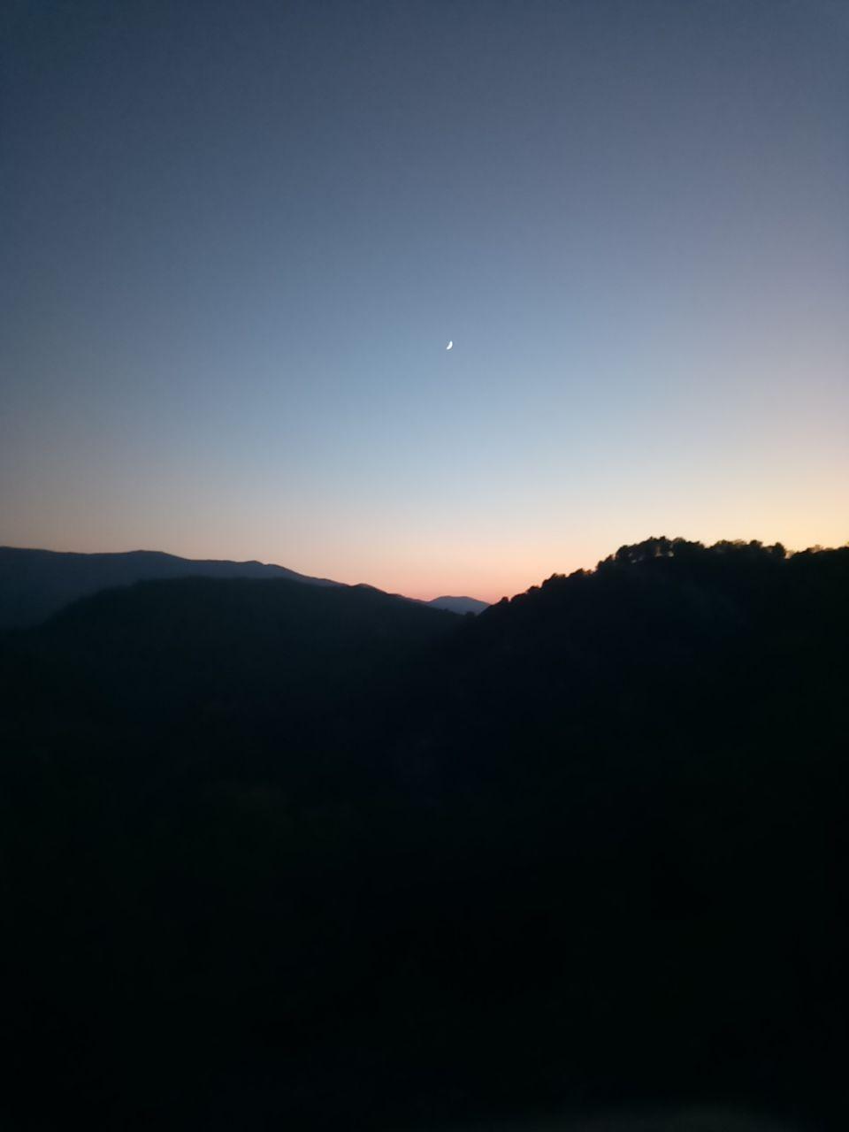 Foto con baja luminosidad en el Alcatel a7 y siluetas