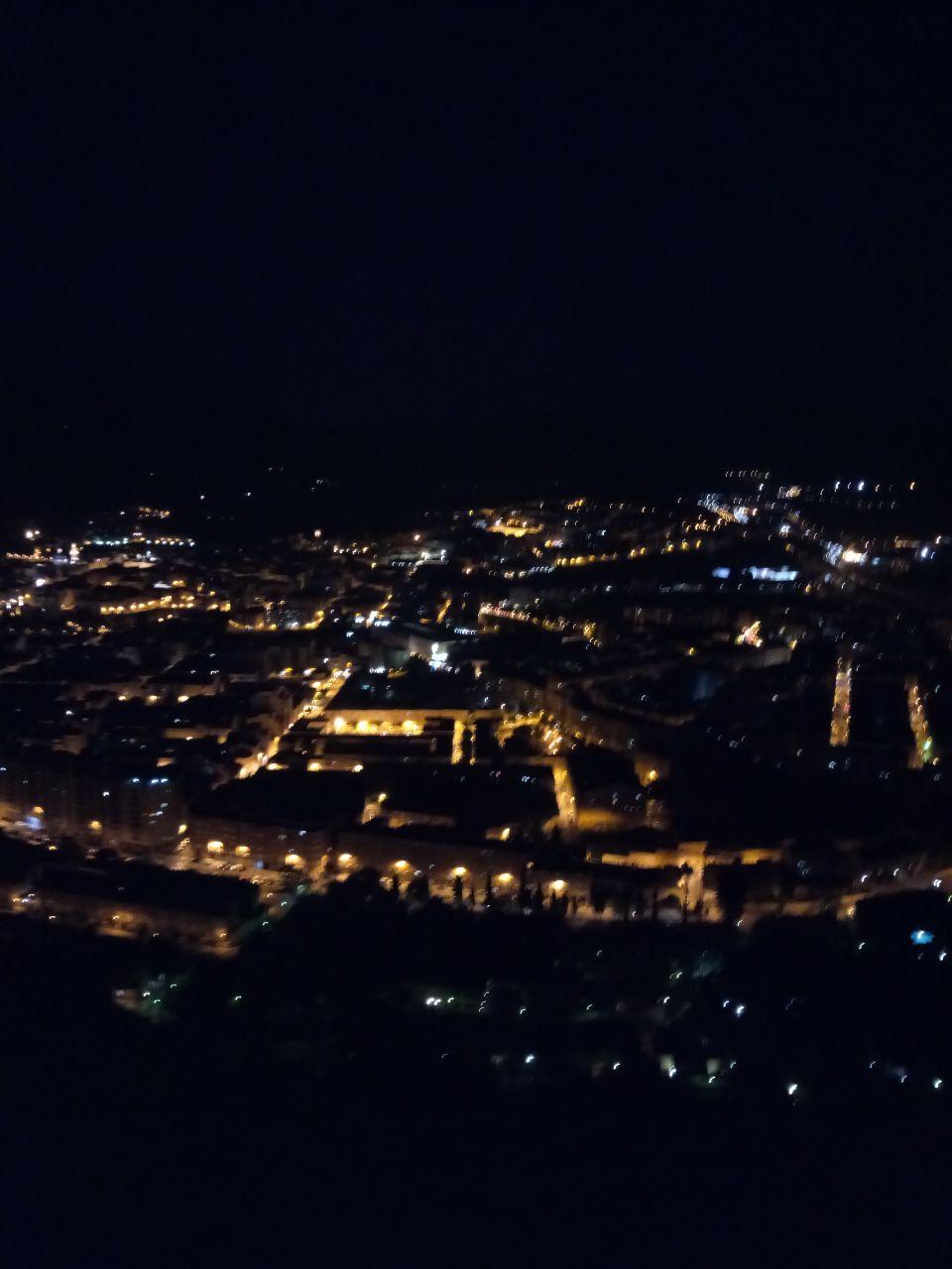 Foto nocturna con el Alcatel A7 foto de noche