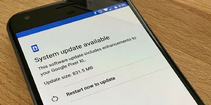Google Pixel XL Actualización