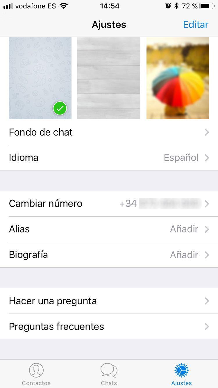 Crear usuario iOS