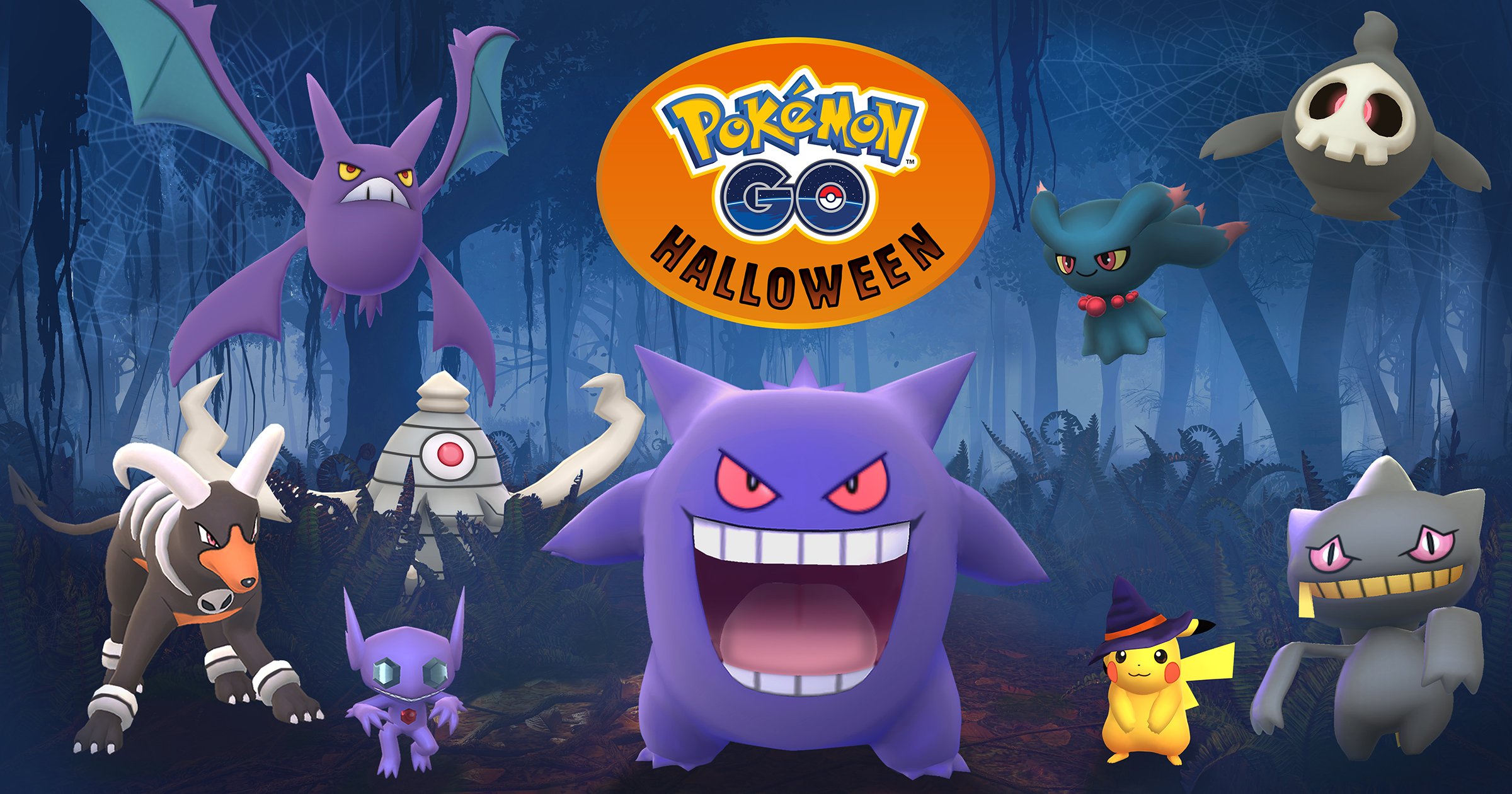 Evento Halloween 2017 Pokémon GO