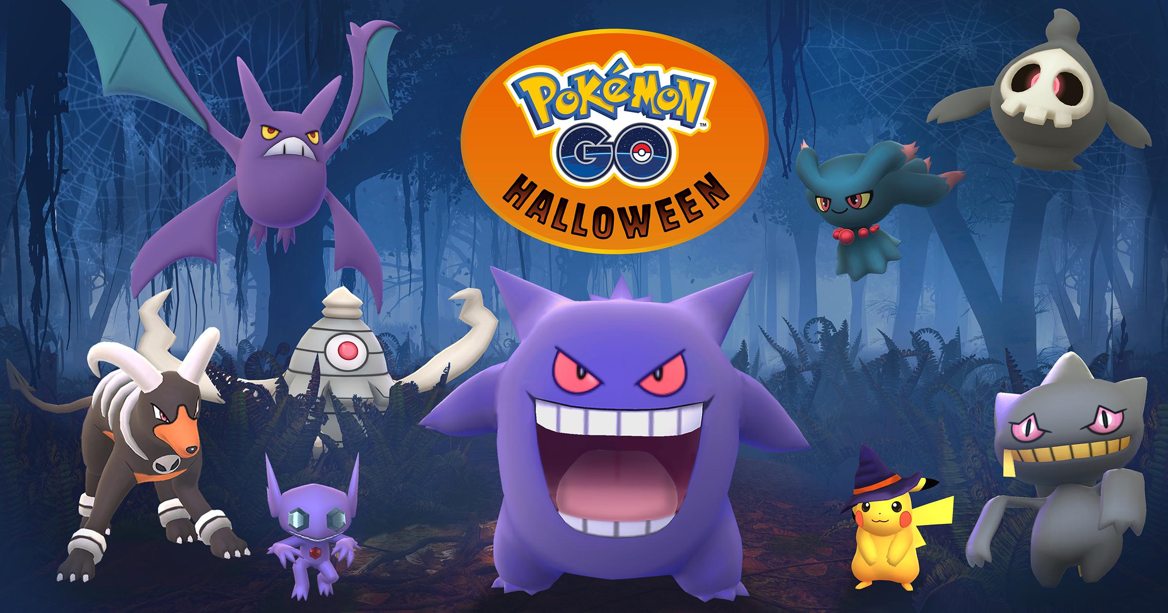 Evento Halloween 2017 Pokémon GO