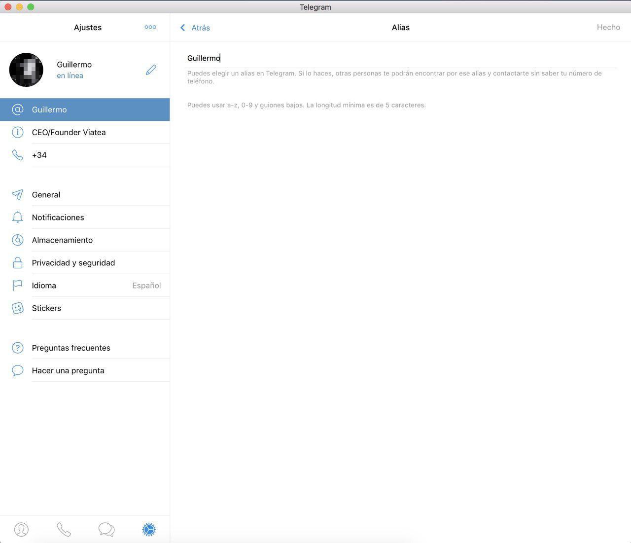 Crear usuario MacOS