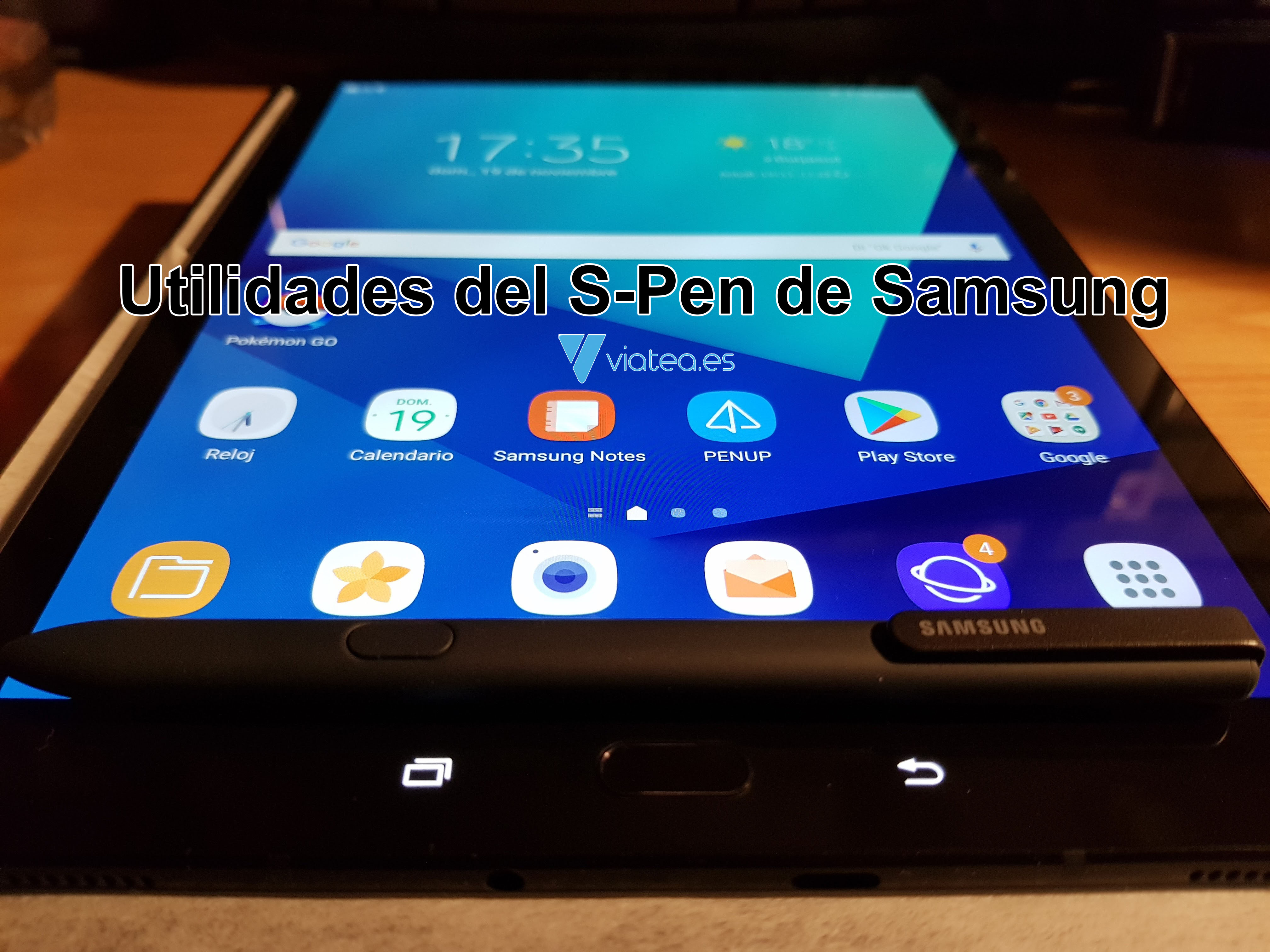 Utilidades del S-Pen de Samsung
