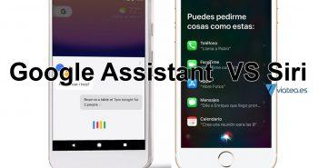 Google Assistant y Siri