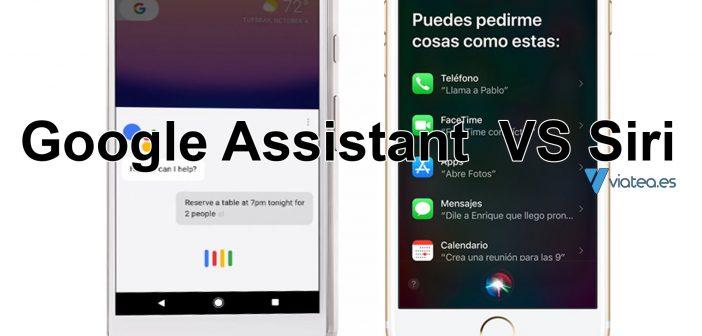 Google Assistant y Siri, ¿Quién lo hace mejor?