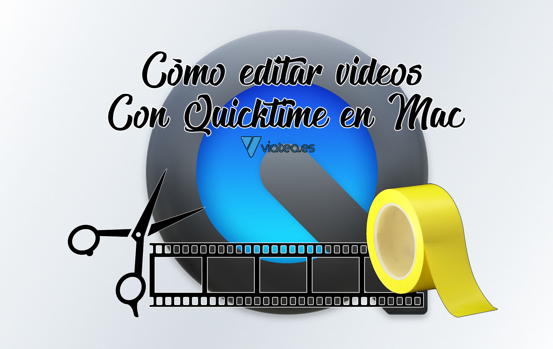 Cómo editar videos con Quicktime en Mac
