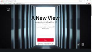 Anuncio presentación OnePlus 5T