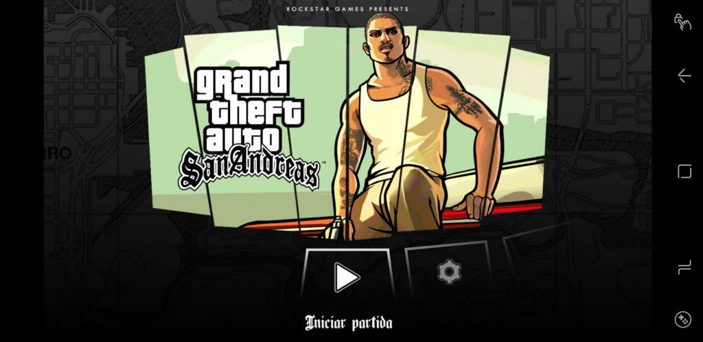 Juego para iOS/Android GTA: San Andreas | Autoría propia