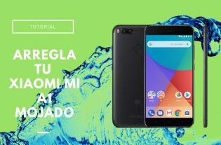 Xiaomi Mi A1 mojado