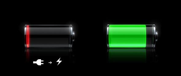 porcentaje de batería del iPhone