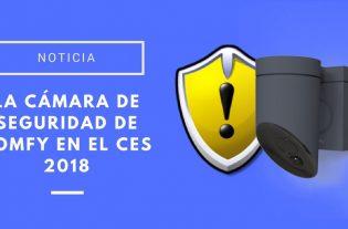 cámara de seguridad de Somfy en el CES 2018