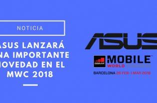 Asus lanzará una importante novedad en el MWC