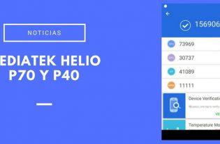 Mediatek Helio P70-Helio P40