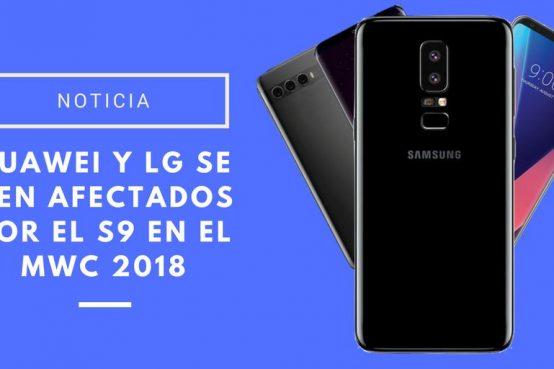 Huawei y LG en el MWC