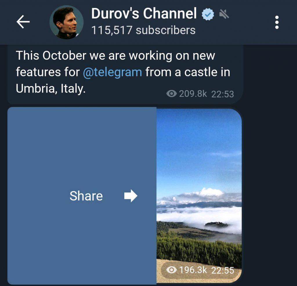 Nuevo Telegram X