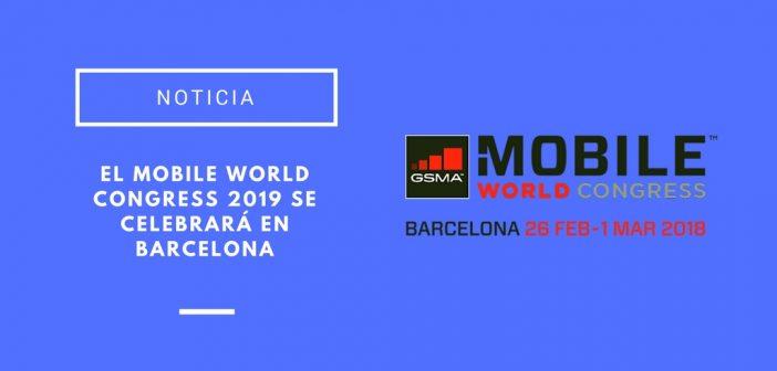 Mobile World Congress 2019 en Barcelona