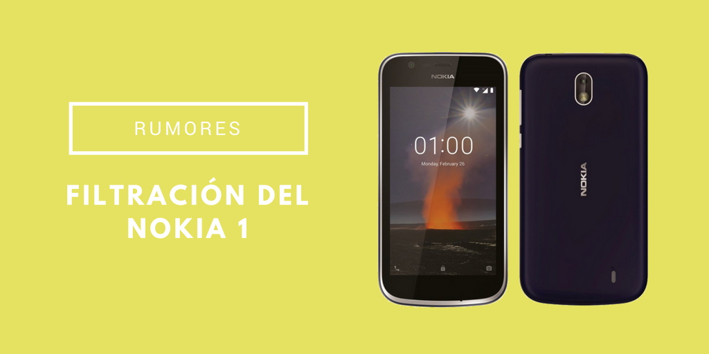 Filtración del Nokia 1