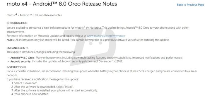 Viatea-nuevo Moto X4-6GB RAM-Oreo