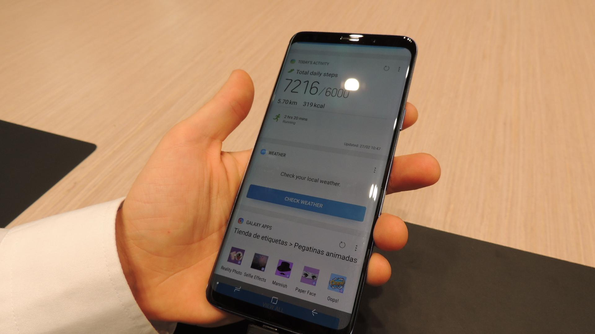 Activar Asistente Samsung S9