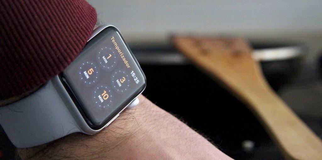 Apple Watch Series 3 temporizador
