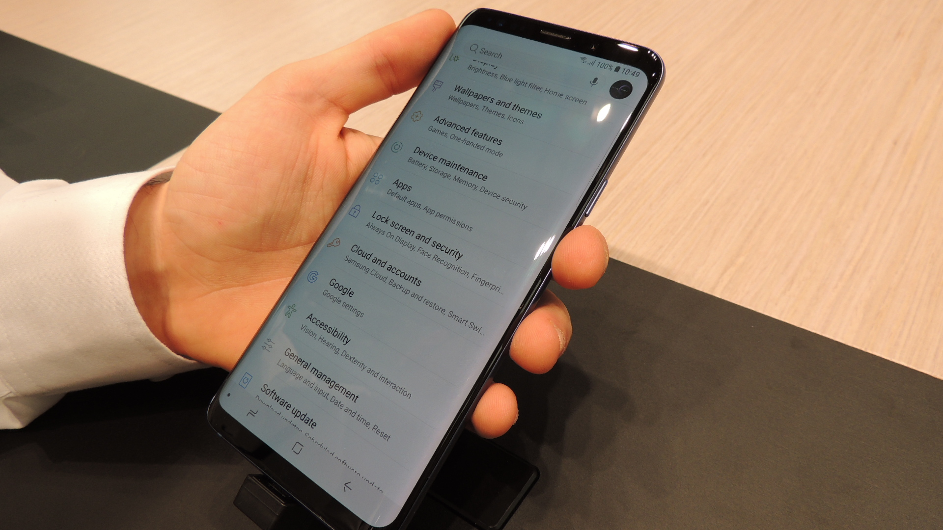 desactivar Always On Display en el Samsung Galaxy S9