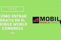 entrar gratis al MWC 2018