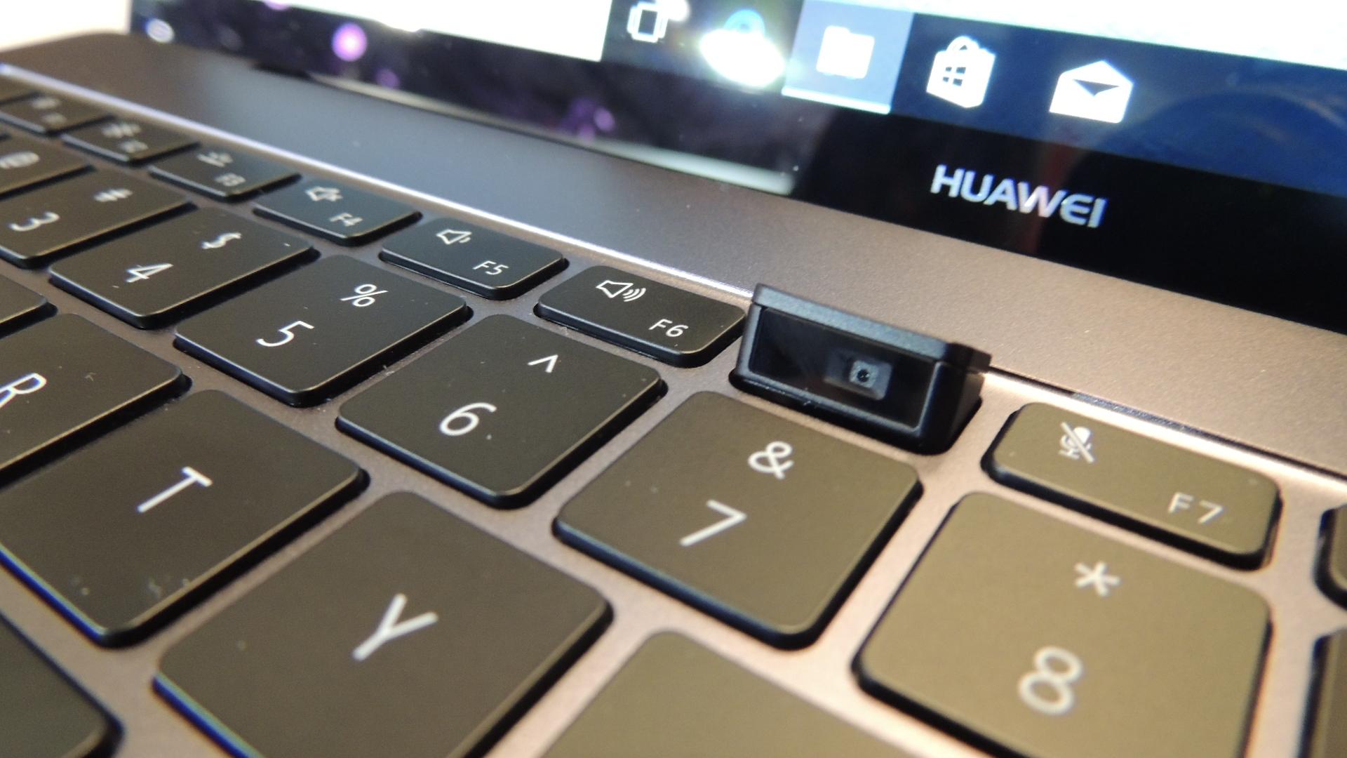 nueva camara en Huawei Matebook x pro