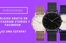 relojes gratis en Instagram Stories y Facebook