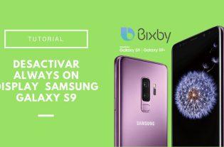Cómo activar Bixby en el Samsung Galaxy S9