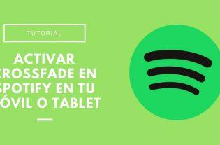 crossfade en Spotify
