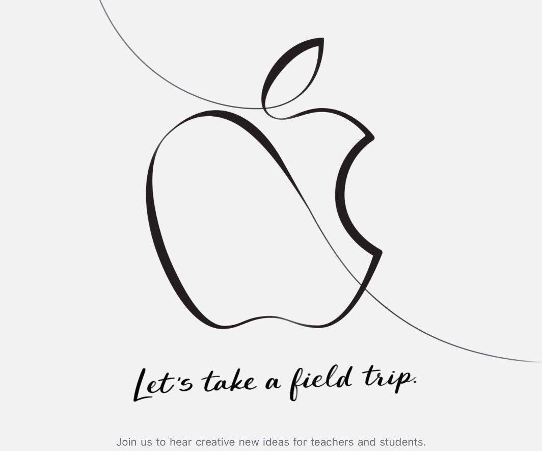 invitación apple keynote educación 28 marzo