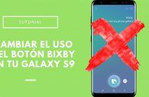Cambiar el uso del botón Bixby en el Samsung Galaxy S9