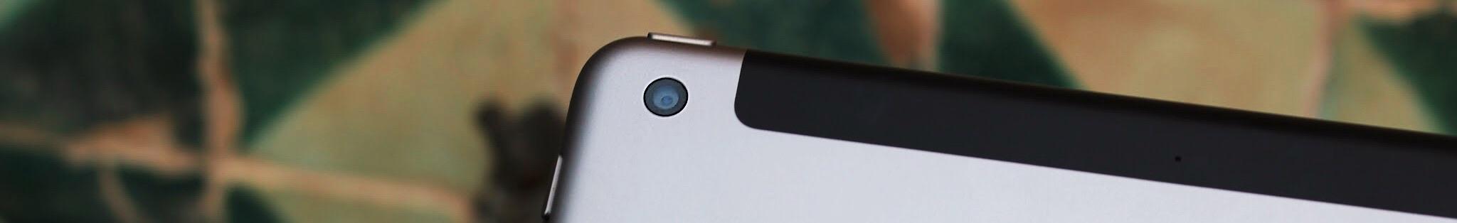 iPad 2018 Cámara